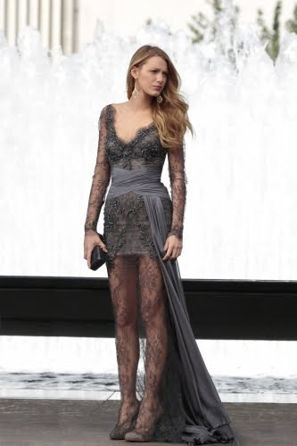 bec777a03257 This almost-mullet dress is another which made me stop in my tracks when  watching the show. Blake Lively looked amazing in it.