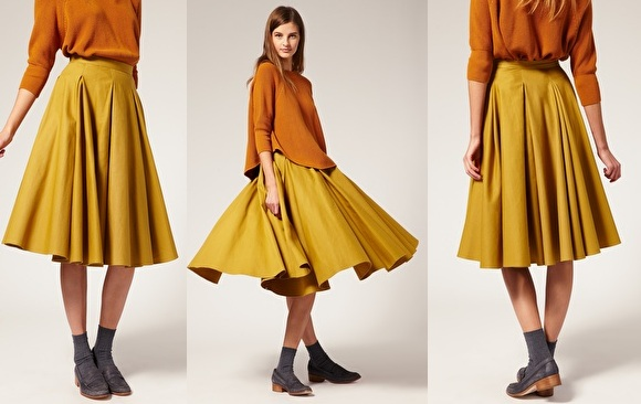 Top 5: Trends for SS11: Midi Skirts | Emily Jane