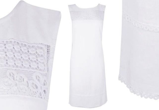 Next black and white shift dress