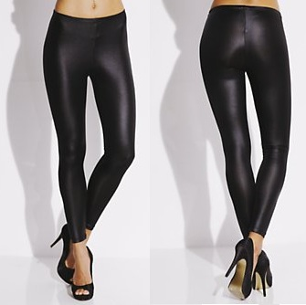 Leather Look Leggings Uk