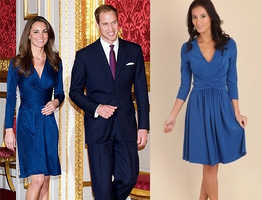 kate middleton blue dress replica. kate middleton blue dress.