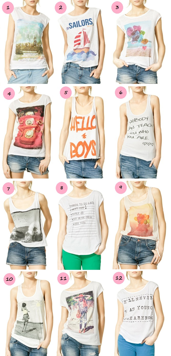 Printed T Shirts Emily Jane