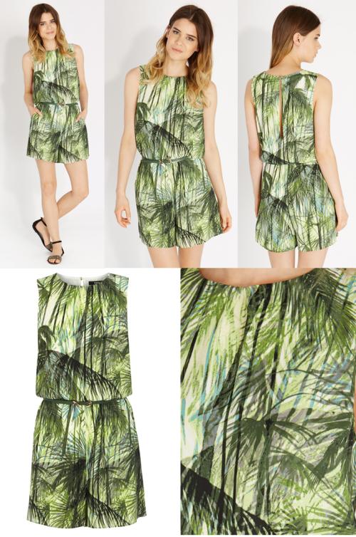 green palms