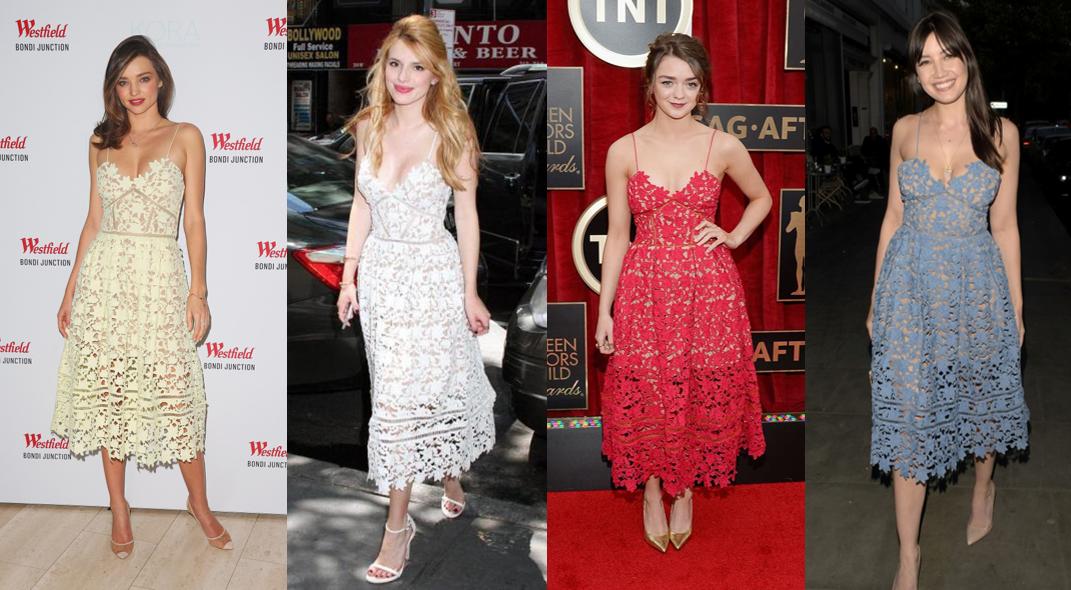 celeb look alike dresses